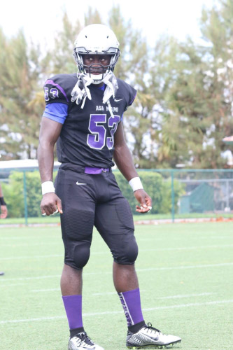 2019 Miami JUCO OLB Peter Agabe Already a Speed Rush Extraordinaire with Growing Talents