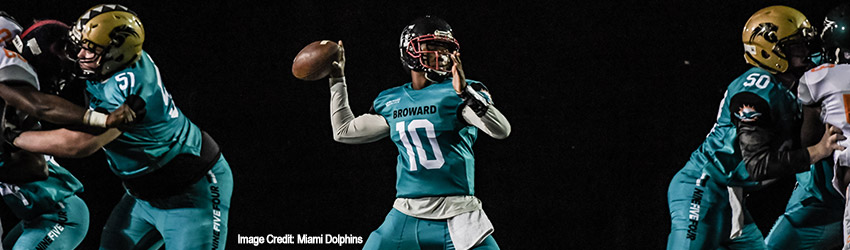 Dade Takes Win Over Broward in Miami Dolphins Junior Dolphins Dade vs