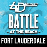 4th Down University Battle at the Beach