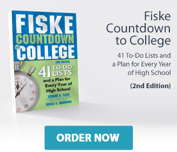 Fiske Countdown to College: 41 To-Do Lists and a Plan for Every Year of High School 2nd Edition