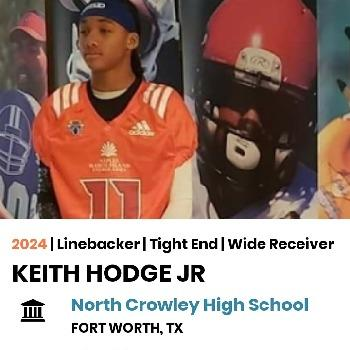 Keith Hodge Jr