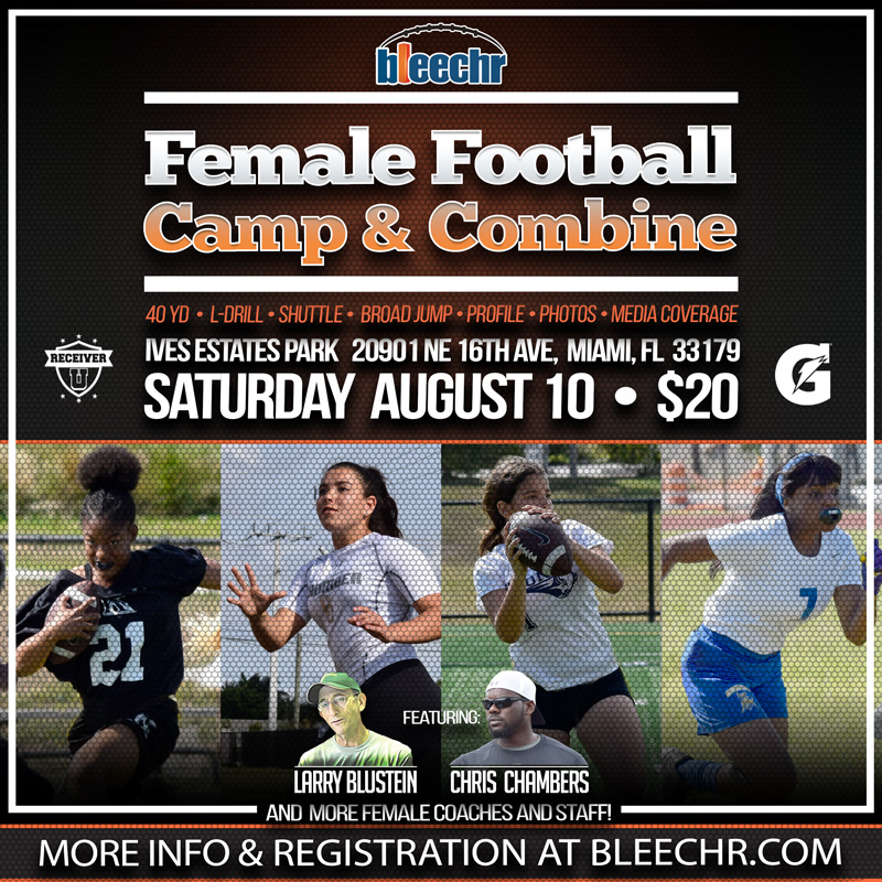 Bleechr Female Football Camp and Combine 800