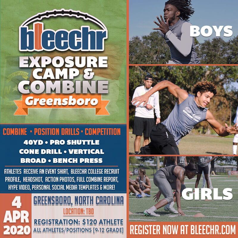 Bleechr Exposure Camp and Combine: GREENSBORO