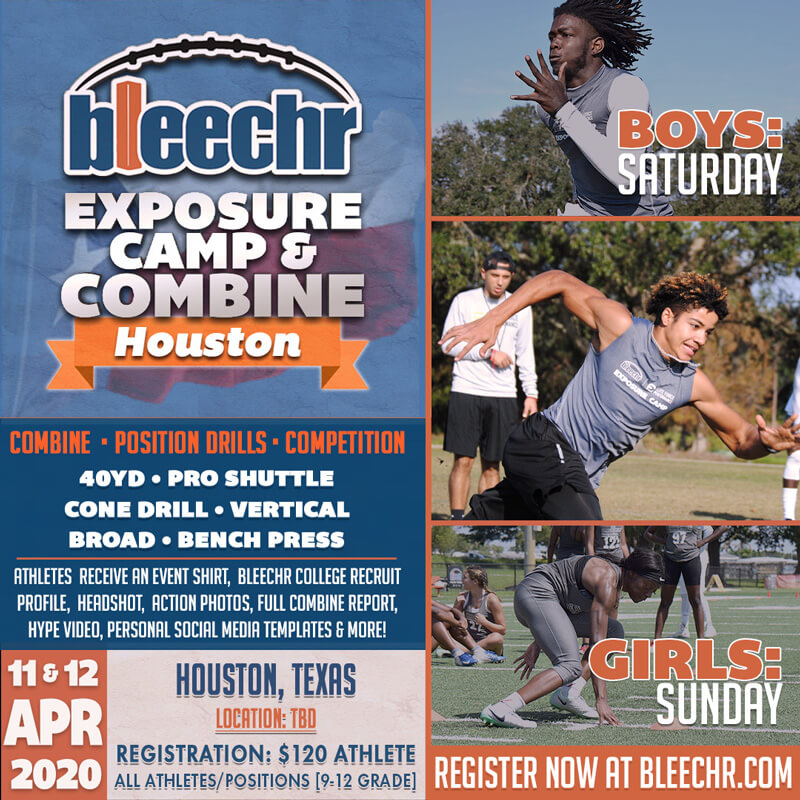 Bleechr Exposure Camp and Combine: HOUSTON