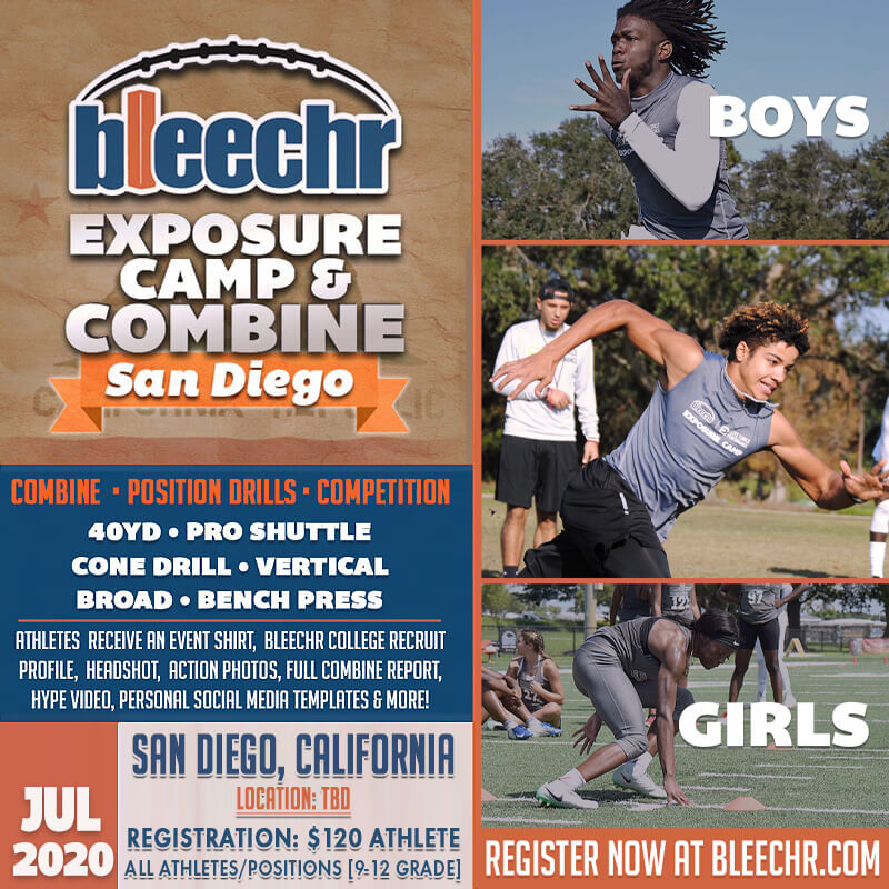 Bleechr Exposure Camp and Combine: SAN DIEGO