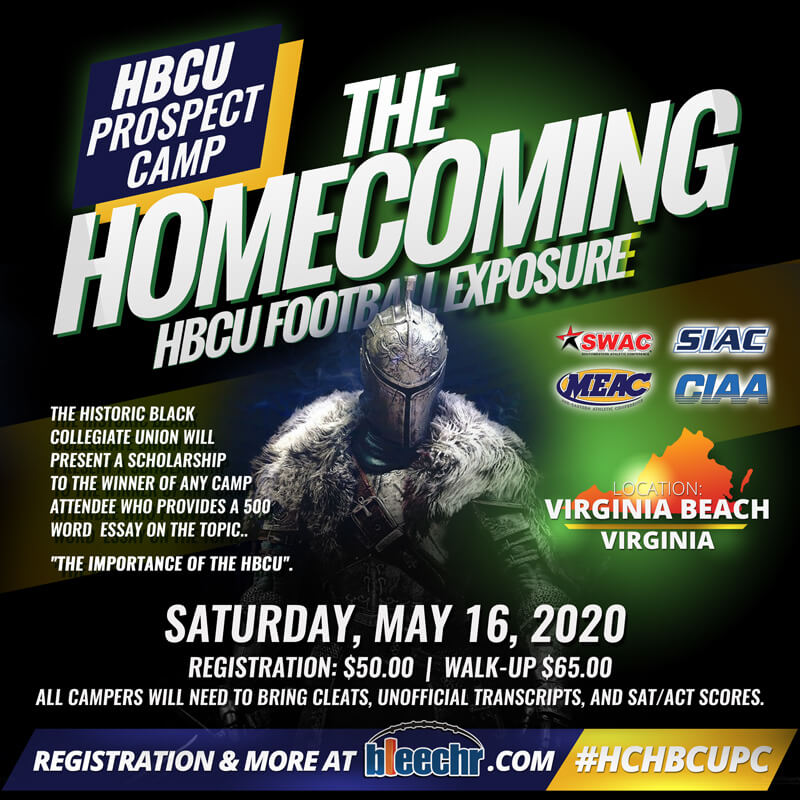 """THE HOMECOMING"" HBCU Prospect Camp"