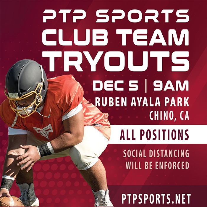 PTP Sports Club Team Tryouts