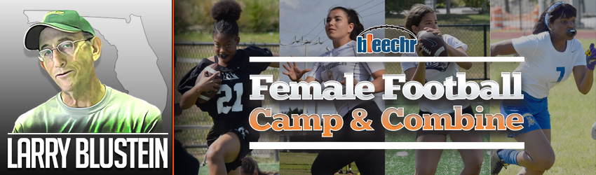 Inaugural Female Football Camp Combine Is Coming