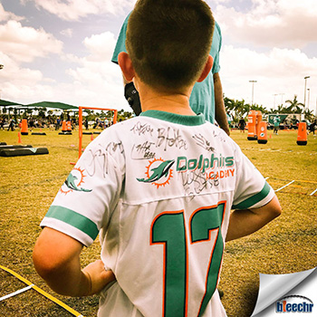 Miami Dolphins Partner with the Marjory Stoneman Douglas High School Football Team