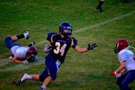 38 yard run
